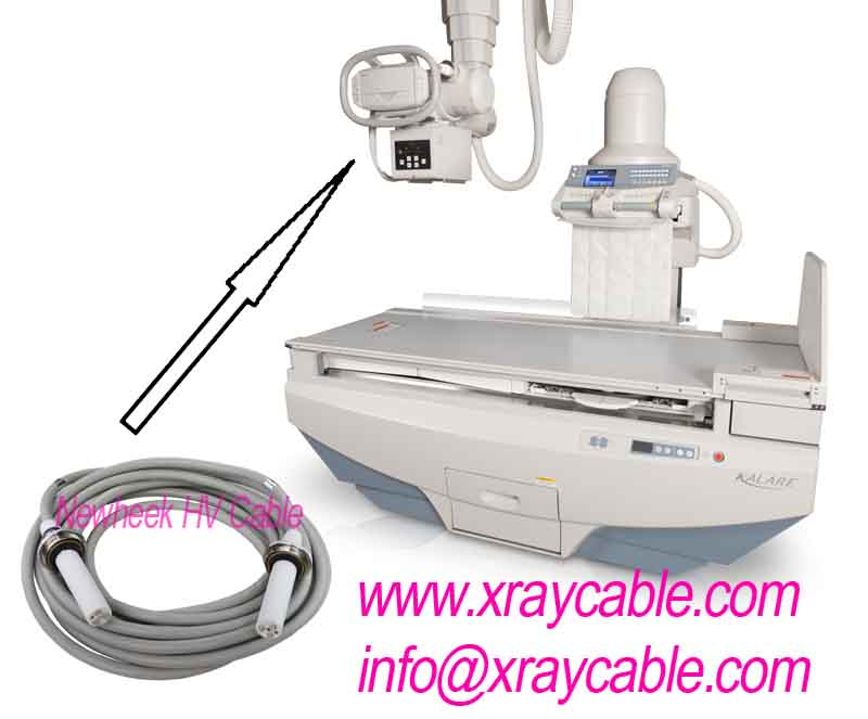 Canon Medical Systems Kalare x ray machine high voltage cables replacement
