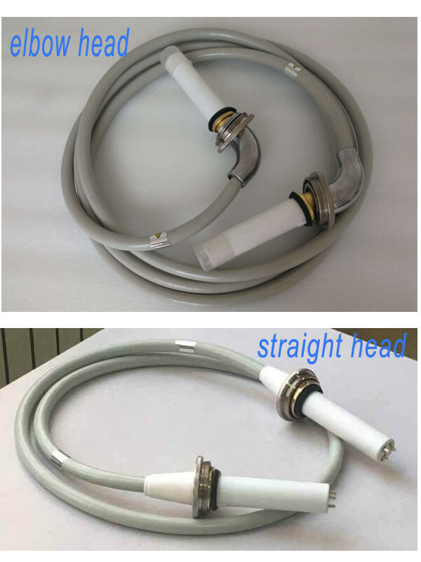straight head cable and elbow head cable