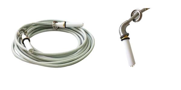 4m 75kvdc high voltage cable