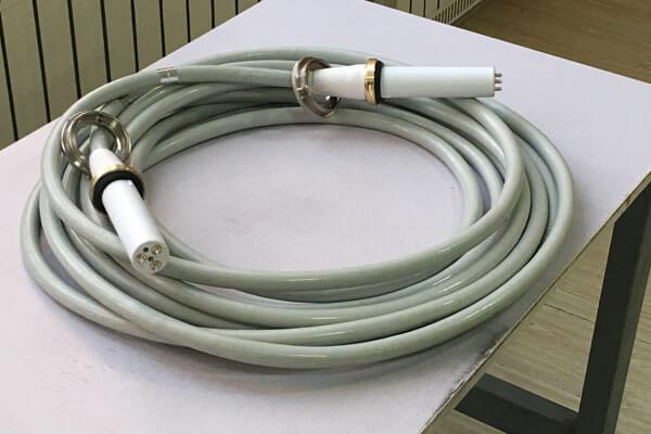 Fault determination of 5m 90KV high voltage cable
