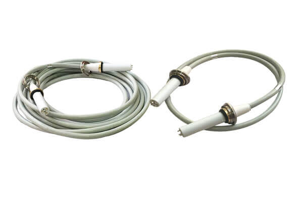 High voltage cable for medical tube