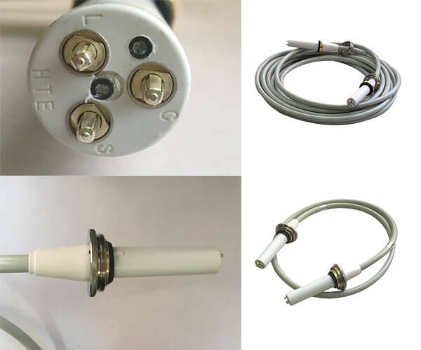 The joints of hv cable connectors are insulated joints